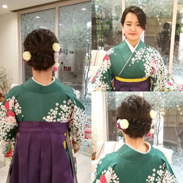 卒業式〜揺れる髪飾り〜